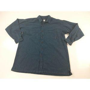 Patagonia XL Organic Cotton Long Sleeve Shirt